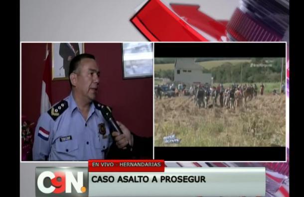 Comisario de Policía responde sobre acusaciones de negligencia durante asalto a Prosegur
