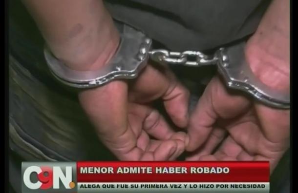 Ladrón fue reducido por vecinos del barrio San Isidro