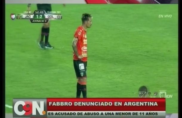 Jonathan Fabbro fue acusado de abuso sexual en Argentina