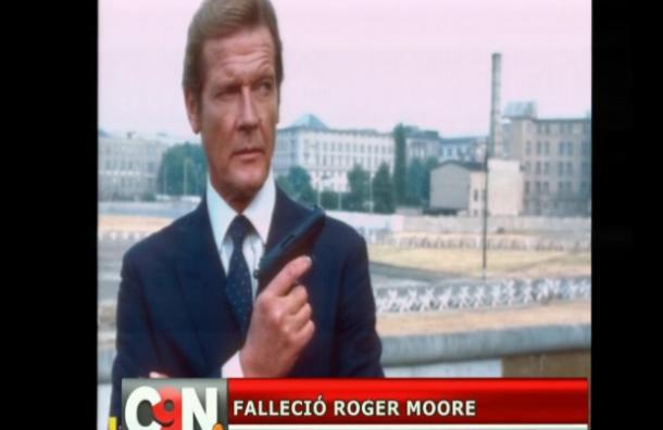 Falleció el británico Roger Moore
