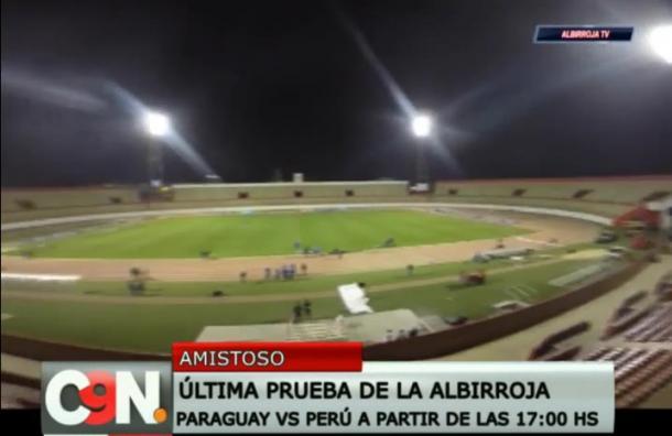 [Deporte] Hoy gran encuentro entre la selección de Paraguay vs Perú