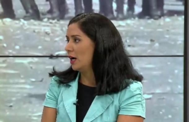 Habla periodista venezolana