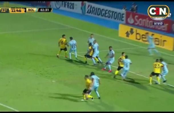 Guaraní triunfa sobre Bolivar por la Libertadores