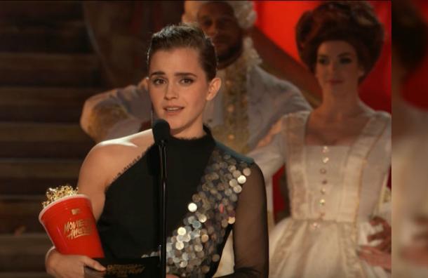 El detalle en el vestido de Emma Watson en los MTV Movie & TV Awards que nadie había notado