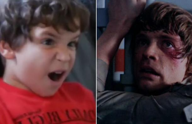 Así reaccionan niños al enterarse que Darth Vader es el padre de Luke Skywalker