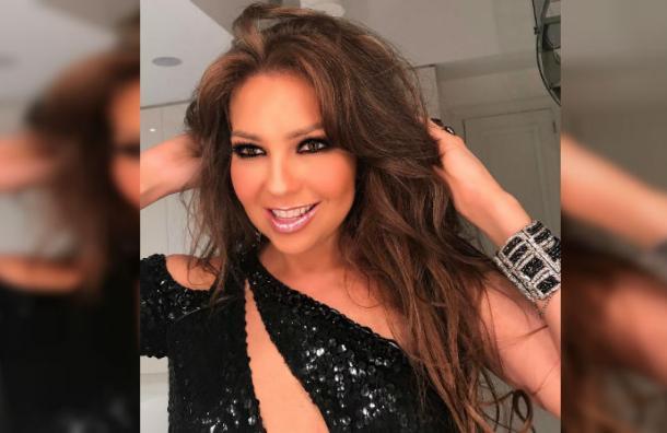 El grosero error de Thalía que la obligó a borrar esta foto de Instagram